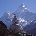 Ama Dablam twice mother! by Louise Levy