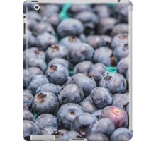 A Bounty of Blueberries iPad Case/Skin