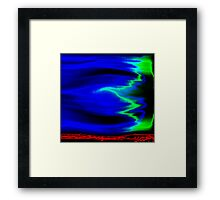opposing forces Framed Print