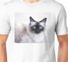 Siamese Like Rag Doll Cat Unisex T-Shirt