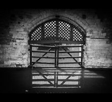 The Tower of London Traitor's Gate by Nicole Petegorsky