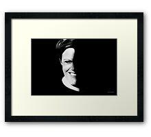 Masked (Challenge) Framed Print