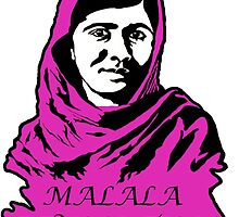 Malala Revolution by rhysonthenet