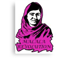 Malala Revolution Canvas Print