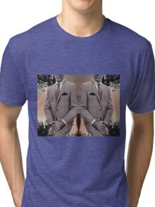 SUIT UP. Tri-blend T-Shirt