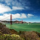 Golden Gate Bridge by Ryan Houston