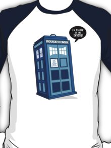 Bigger on the Inside - Doctor Who Shirt T-Shirt