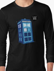 Bigger on the Inside - Doctor Who Shirt Long Sleeve T-Shirt