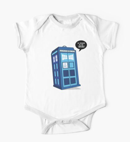 Bigger on the Inside - Doctor Who Shirt One Piece - Short Sleeve