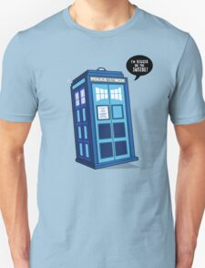 Bigger on the Inside - Doctor Who Shirt Unisex T-Shirt