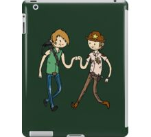 Walking Death Time iPad Case/Skin