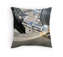 Chopper Forward Controls Throw Pillow