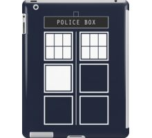 Feel like a police box iPad Case/Skin