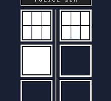 Feel like a police box by MarshmallowShop