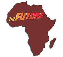 Africa - The Future (Bordeaux) Photographic Print