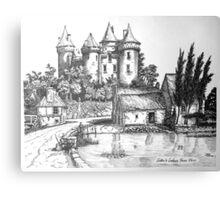 Chateau de Combourg France 1016ad Canvas Print