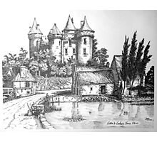 Chateau de Combourg France 1016ad Photographic Print