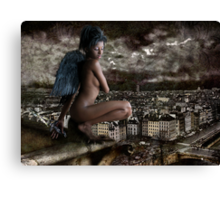 Little Gargoyle Canvas Print