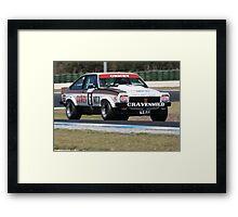 Torana Hatchback Framed Print