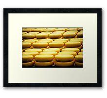 Say Cheese Framed Print