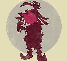 A Terrible Fate - Skull Kid by DonCorgi