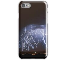 Massive Lightning Strike over NSA Location iPhone Case/Skin