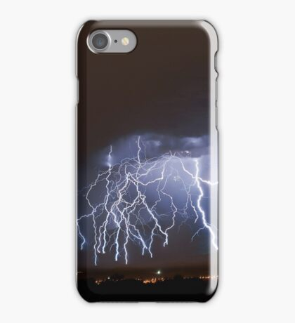 Massive Lightning Strike over NSA Location iPhone Case/Skin