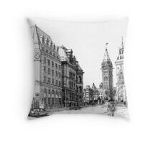 Elgin Street Ottawa 1984 Throw Pillow