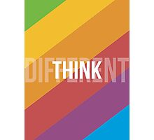 Think Different Photographic Print