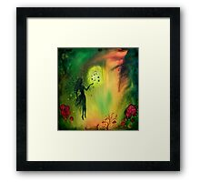 Fairy with Butterflies Framed Print