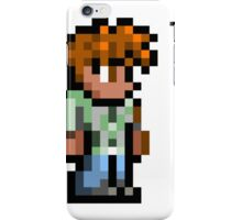 Terraria's Guide character iPhone Case/Skin