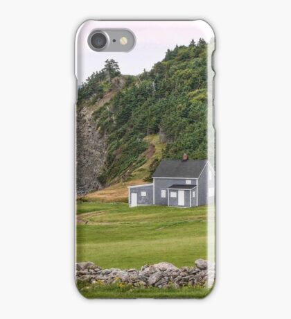 Capstick, Nova Scotia iPhone Case/Skin