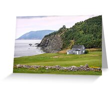 Capstick, Nova Scotia Greeting Card