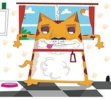 Cartoon Cat by boabie109