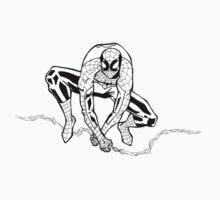 Spider-Man B/W One Piece - Short Sleeve