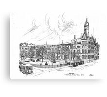 Gore Park Hamilton 1870 Canvas Print