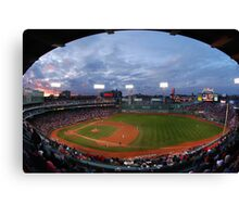 Eagle Eye View of Fenway Park Canvas Print