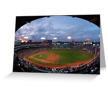 Eagle Eye View of Fenway Park Greeting Card