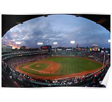 Eagle Eye View of Fenway Park Poster