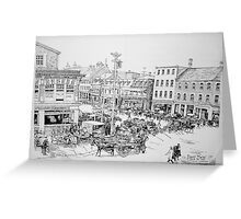 Byward Market Ottawa, 1923 Greeting Card