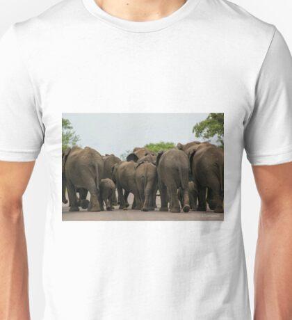 Elephants (Loxodonta africana) Unisex T-Shirt