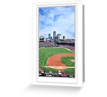 Red Sox Pano #2 Greeting Card