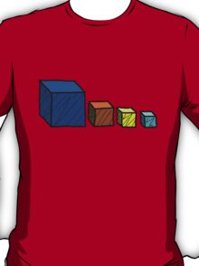 Realm of the Mad God - Cube God Cubes T-Shirt