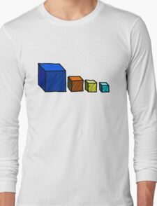 Realm of the Mad God - Cube God Cubes Long Sleeve T-Shirt