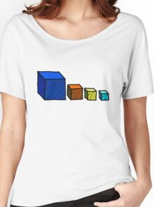 Realm of the Mad God - Cube God Cubes Women's Relaxed Fit T-Shirt
