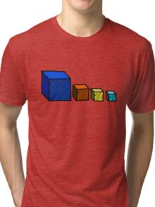 Realm of the Mad God - Cube God Cubes Tri-blend T-Shirt