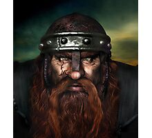 Warrior Dwarf Photographic Print
