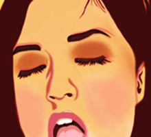 Sasha Grey Pure Art Sticker