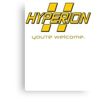 Hyperion. Canvas Print