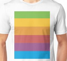 Apple Rainbow Unisex T-Shirt